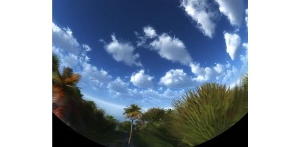 奄美大島の風景(CG)