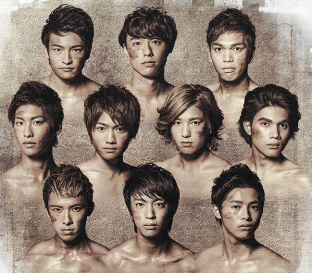 10神ACTORの4枚目のシングル「フロンティア」(1000円)は12月15日(火)に発売!