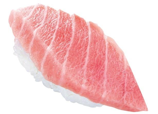 リニューアル記念のお寿司「『極み』大とろ」(194円)はぜひ味わいたい