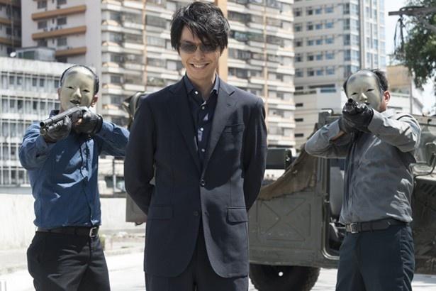 『MOZU』の東和夫を演じる長谷川博己