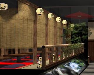 京都各地の特徴が生かされた内装