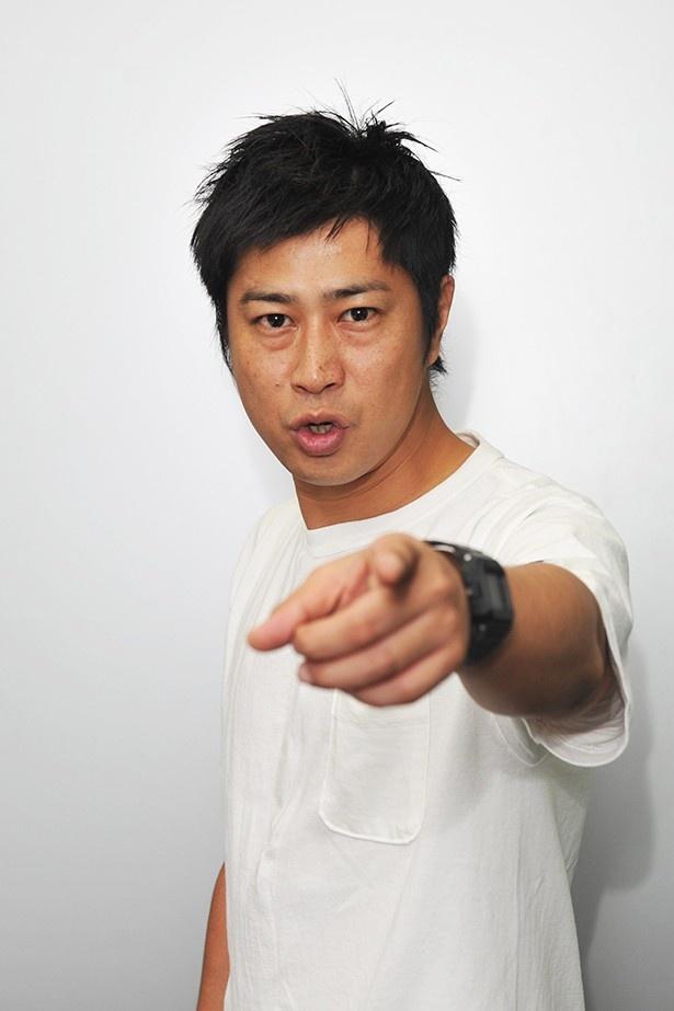 リーガ・エスパニョーラの特別番組にゲスト出演するパンサー・尾形貴弘