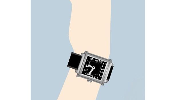 腕時計も自分好みのものをチョイス
