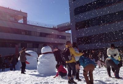 12月5日(土)・6日(日) の関空に雪の広場が登場