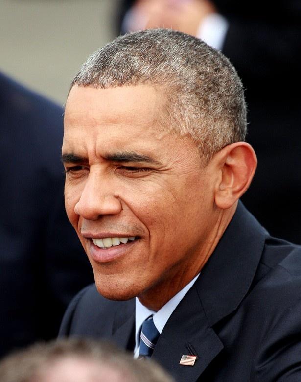 【写真を見る】オバマ米大統領に「どうしてそんなに顔全体の毛を伸ばしているんですか?」と尋ねられたそう