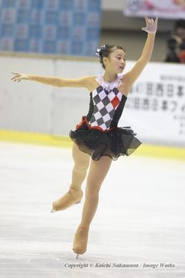 昨年の全日本ジュニアでショート落ちしてしまった白岩優奈。今季は優勝争いに加わるはず