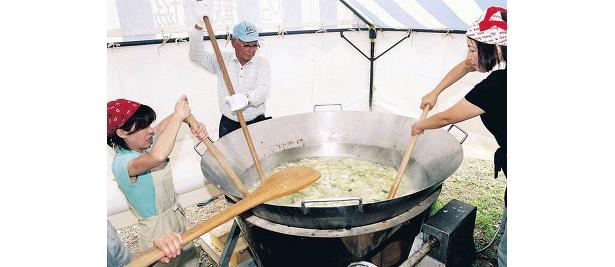 1000杯限定の石狩鍋1杯¥100