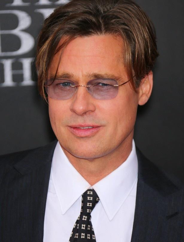 ブラッド・ピットのサングラス画像