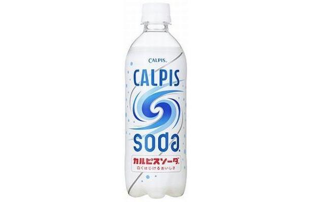 リニューアルにより「カルピス」を炭酸で割ったおいしさをさらに楽しめるように、より爽やかな味わいに磨きをかけた