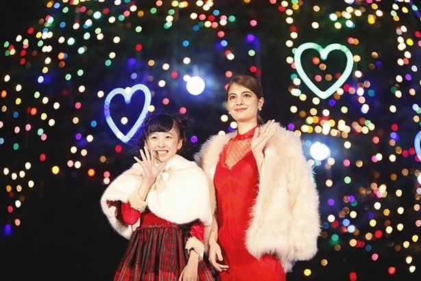 中山競馬場クリスマスイルミネーションは年内の土日および12月24日(木)と25日(金)に開催