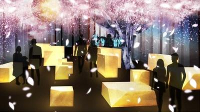 【写真を見る】風情豊かな日本橋が「花」と「光」であふれる演出が楽しめる