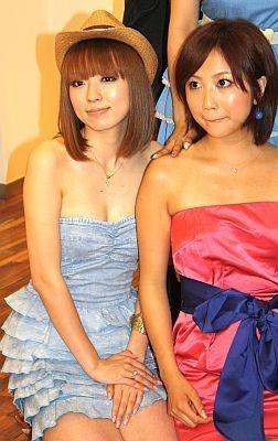山崎美奈子と渡辺由布子も人気の読モ