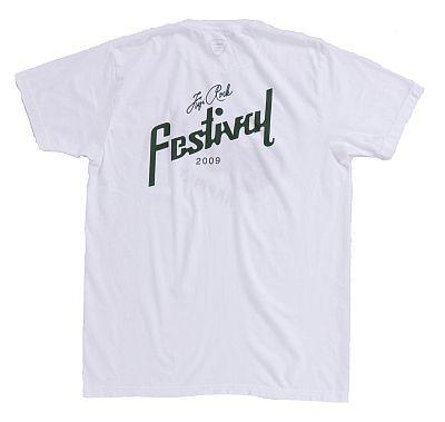「Palm Graphics×BEAMSのHappily Tシャツ」(WHITE・裏)