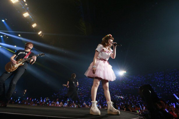 内田彩セカンドライブに7千人のファンが沸いた! 内田彩セカンドライブに7千人のファンが沸いた!