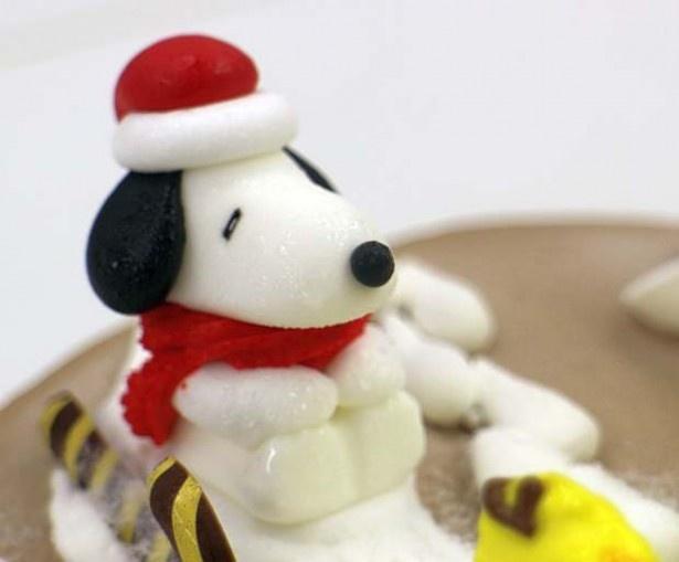 サンタに変身!サーティワンオリジナルで作ったスヌーピーの砂糖菓子
