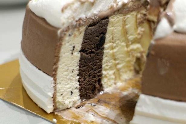フレーバーはチョコレートチップクッキー、クッキー&チョコレート、キャラメルリボンを使用