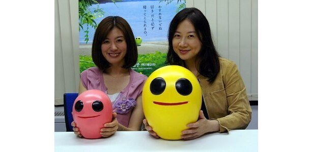 『いけちゃんとぼく』の原作者、西原理恵子(右)と、母・美津子役のともさかりえが対談