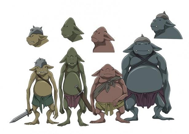 「灰と幻想のグリムガル」の登場生物の設定画を公開