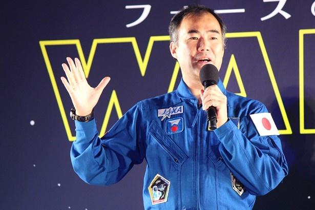 大の「スター・ウォーズ」ファンを公言するJAXA宇宙飛行士の野口聡一氏