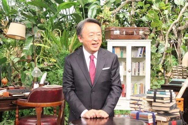 テレビ東京の正月特番「池上彰の2016年 世界を見に行く」の取材に応じた池上