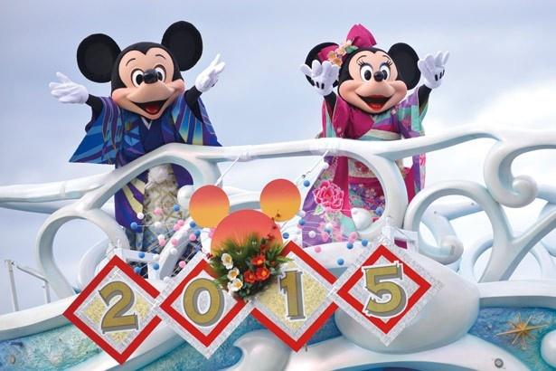 東京ディズニーシーのスペシャルグリーティングは1日3回。晴れ着のミッキーマウス&ミニーマウスに注目!