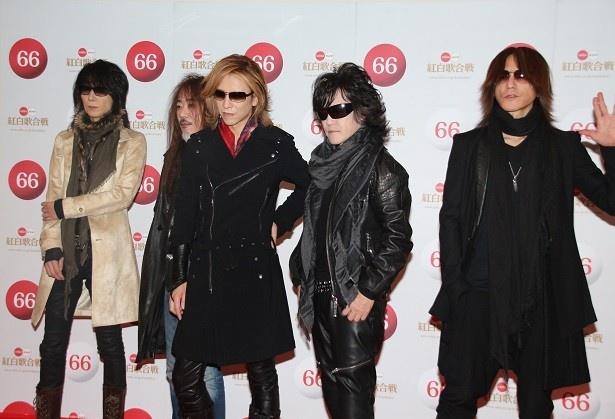 「第66回NHK紅白歌合戦」に出場するX JAPAN