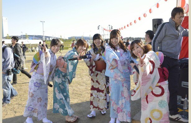 SHIROBAKOキャスト陣が浴衣姿でトークショー