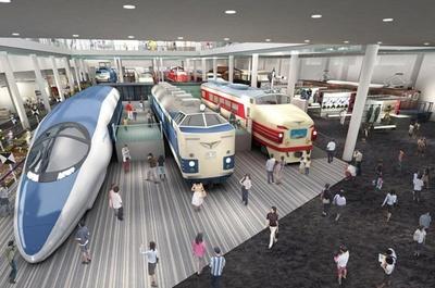 4月29日(祝)にオープンの「京都鉄道博物館」は53両もの車両を収蔵