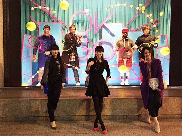 Perfumeが「SUSHI POLICE」で、OK Goとコラボ