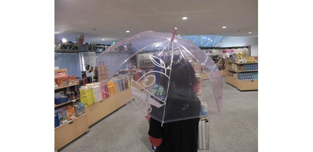 雨の日も楽しい気分にしてくれる、「たねまる」の傘