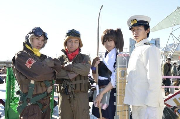 コミケ89で人気の艦これ&アイドルアニメコスプレ特集