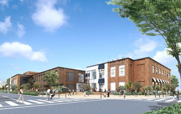 横浜赤レンガ倉庫に隣接するエリアに新たにオープンする「MARINE & WALK YOKOHAMA」