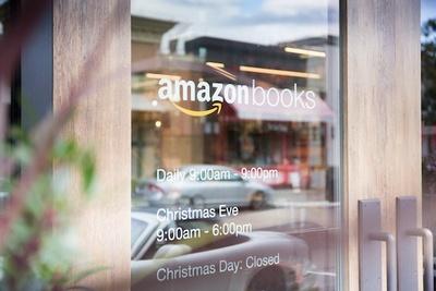 「Amazon Books」は、クリスマスの日を除き年中無休
