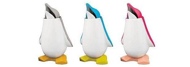 ペンギンをモチーフにしたギミック貯金箱 「コインペンギン」(全3種類)