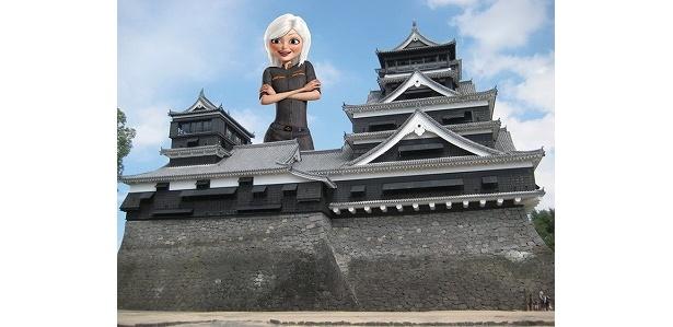 熊本県の熊本城