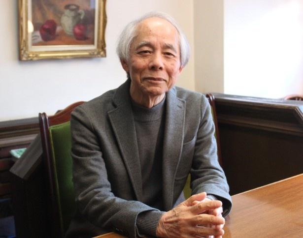 脚本家の山田太一にインタビュー