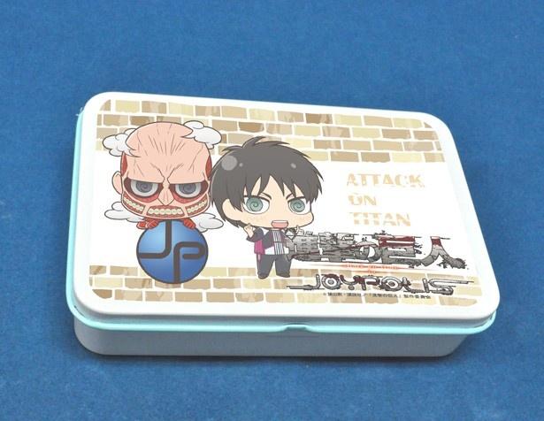 フレーバーは開けてからのお楽しみの「缶入りキャンディ」(各650円)は全5種