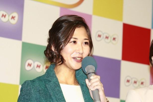 4月から「ニュースチェック11」を担当する桑子真帆アナ