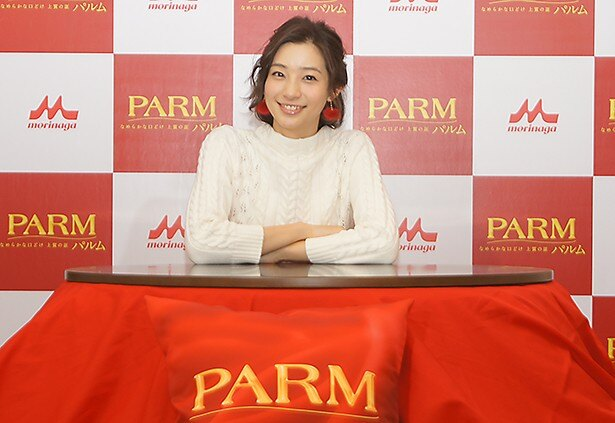 「PARM(パルム)」のイベントに参加した足立梨花
