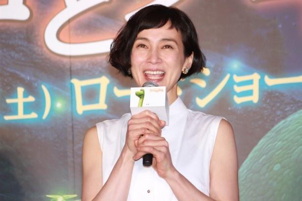 アーロのママ役の安田成美