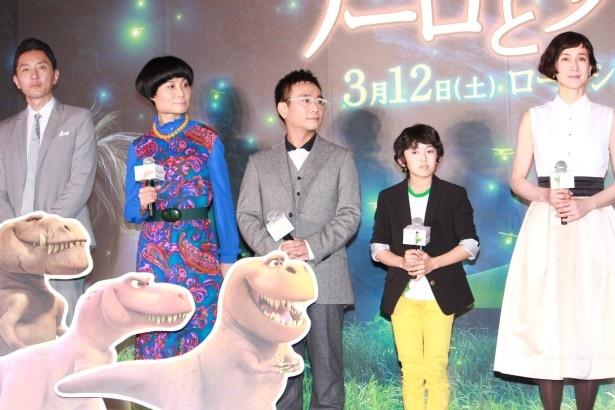 日本語吹替版キャストの5人