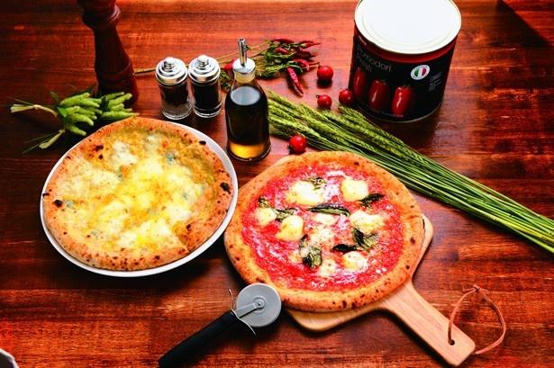 ランチは、500円(税抜)のピッツァが全8種類そろう!