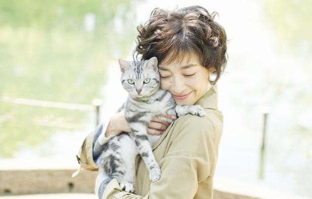 '14年放送「連続ドラマW グーグーだって猫である」より主演の宮沢りえ