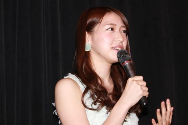 「赤い糸」に出演した茂木忍(AKB48)