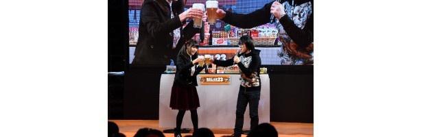 「私がカロリークイーンだよ!」ワンフェス「だがしかし」ステージで竹達彩奈が宣言