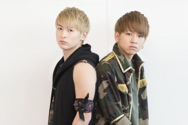 佐藤と小見山は「僕たちなりのパフォーマンスで、皆さんに喜んでもらいたい」
