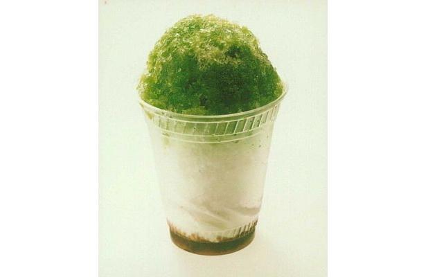 上品な味わいのあずきと抹茶、ミルキーなソフトクリームのバランスが絶妙! 「氷シェイク抹茶あずき」