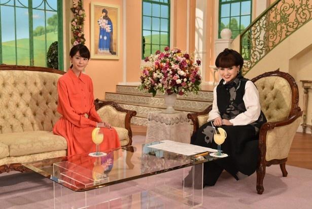2月12日(金)放送の「徹子の部屋」で、桐谷美玲が番組初登場!