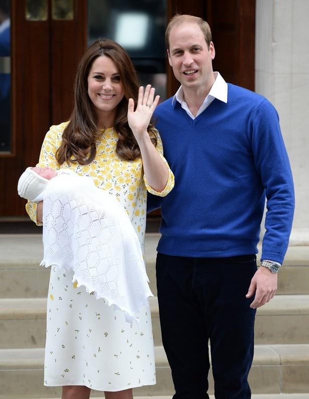 13年にジョージ王子が、15年にシャーロット王女が誕生し、幸せいっぱい
