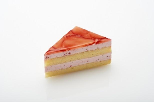 イチゴの甘酸っぱさを楽しめる「苺のケーキ」(350円)